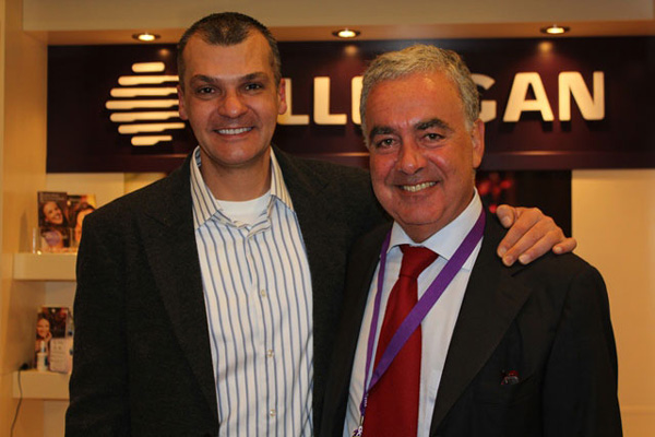 Dr Alek Nikolic With Professor Massimo Signorini Plastic Surgeon